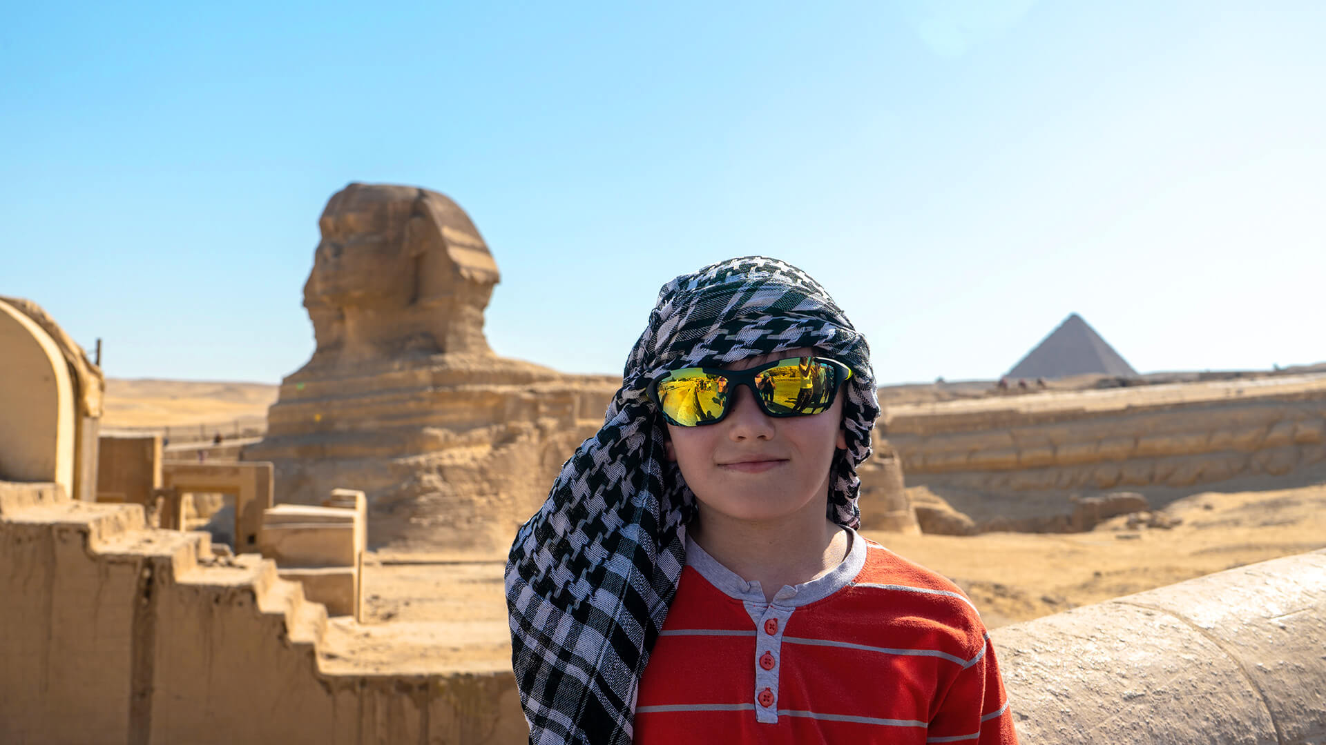 Egito com Crianças