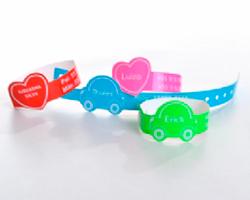 Pulseiras de Identificação para Crianças - Loja Grudado em Você